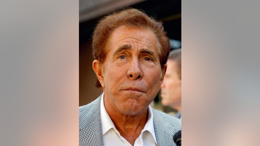 "FILE - In this Sept. 7, 2012 file photo, casino mogul Steve Wynn arrives at court for his slander trial in Los Angeles. An appeals court in Los Angeles on Monday, June 23, 2014, upheld a $19 million verdict against ""Girls Gone Wild"" founder Joe Francis in a case won by Wynn. Wynn sued over statements Francis made claiming the businessman threatened to kill him over a gambling debt, but a jury determined in 2012 that the statements were defamatory. (AP Photo/Nick Ut, file)"
