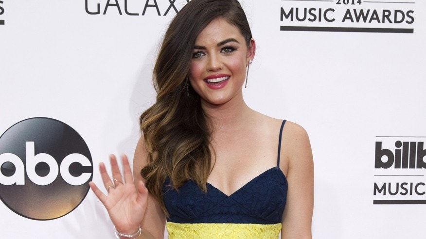 Singer Lucy Hale arrives at the 2014 Billboard Music Awards in Las Vegas, Nevada May 18, 2014.  REUTERS/ L.E. Baskow  (UNITED STATES-Tags: ENTERTAINMENT)(BILLBOARDAWARDS-SHOW) - RTR3PQZY