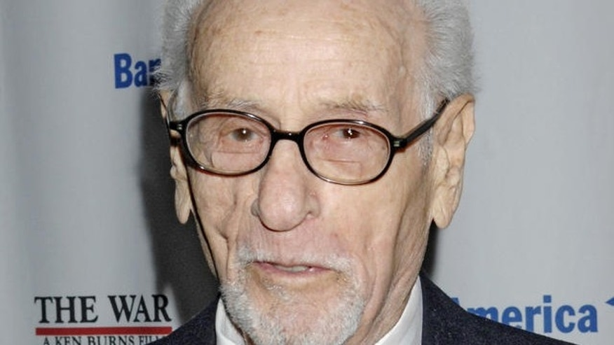 September 17, 2007: Actor Eli Wallach arrives for the premiere of the Ken Burns World War II documentary 'The War' in New York. (AP Photo/ Louis Lanzano)