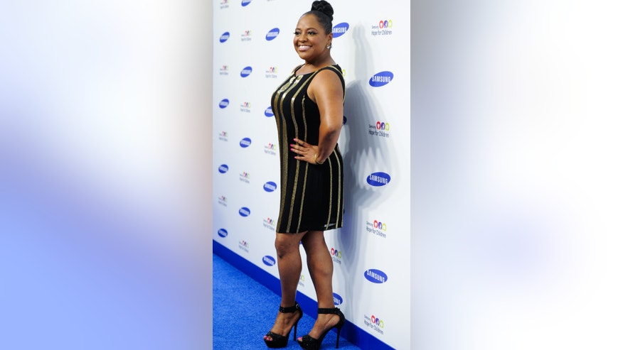 Television personality Sherri Shepherd attends the 13th annual Samsung Hope For Children Gala at Cipriani Wall Street on Tuesday, June 10, 2014, in New York.