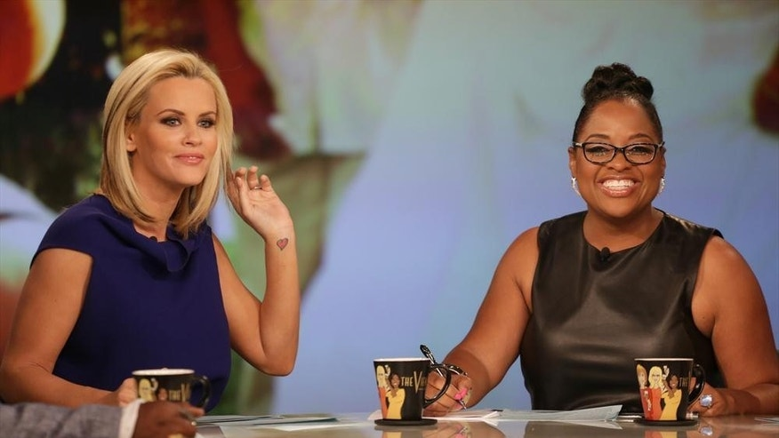 "Jenny McCarthy, left, and Sherri Shepherd host ""The View."""