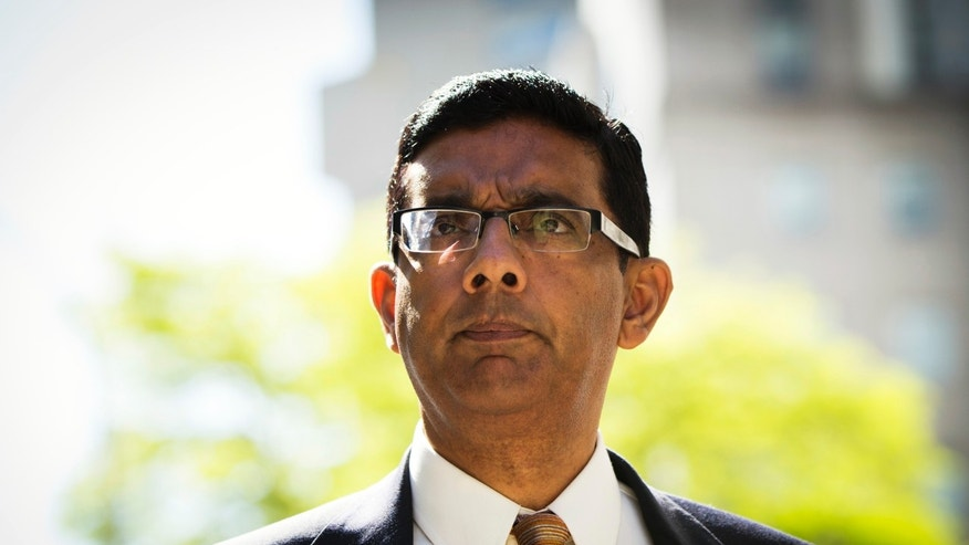 May 20, 2014. Conservative commentator and best-selling author, Dinesh D'Souza.