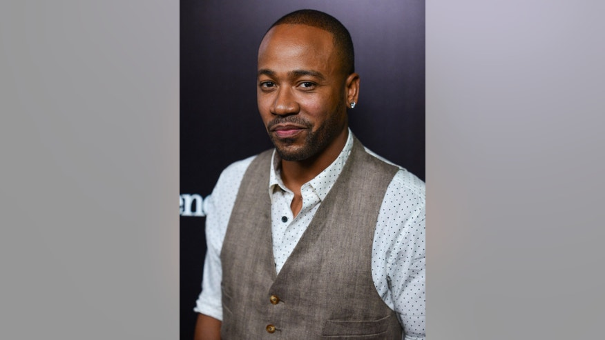 Nov. 7, 2013. Columbus Short appears at the Ermenegildo Zegna Boutique opening in Beverly Hills, Calif.