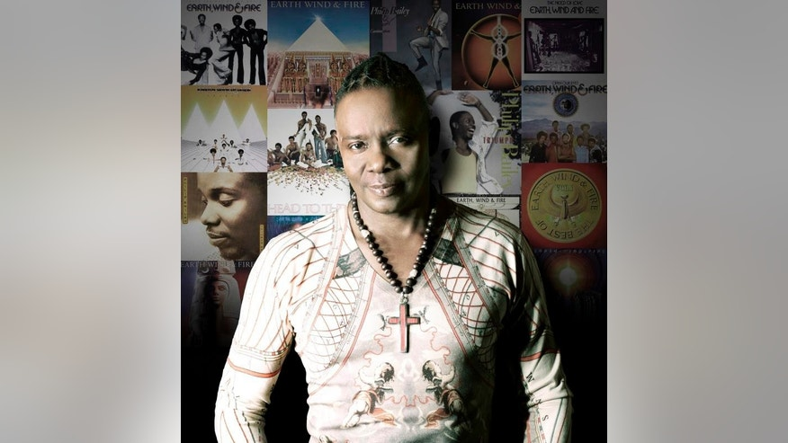 Earth, Wind & Fire's Philip Bailey.