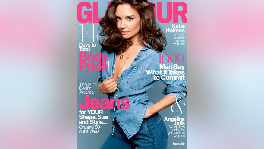 August 2014 issue of Glamour magazine.