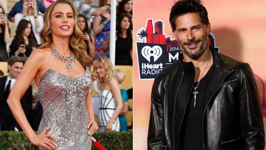 Sofia Vergara, left and Joe Manganiello.