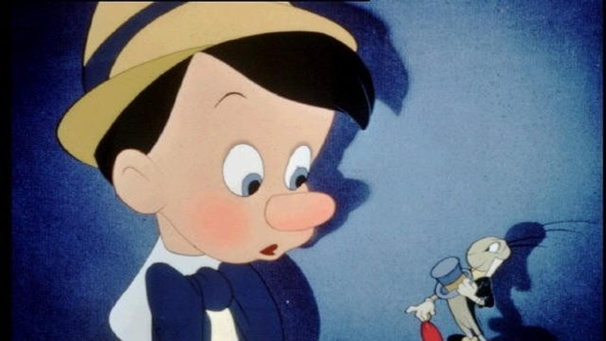 "Still from Disney's ""Pinocchio."""