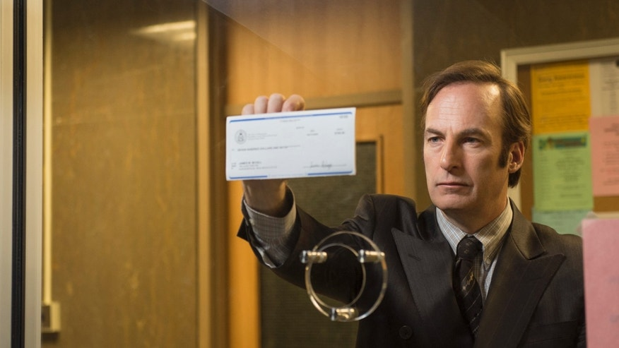 "Bob Odenkirk as Saul Goodman in a scene from ""Better Call Saul,""Season 1."