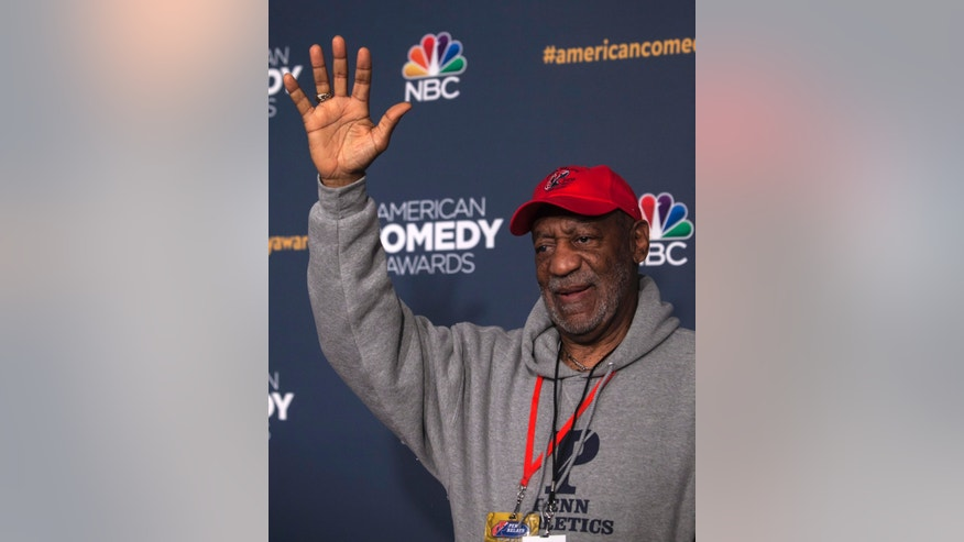 April 26, 2014. Bill Cosby attends the American Comedy Awards in New York.