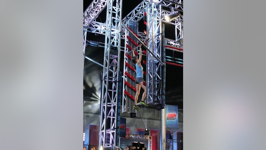 "AMERICAN  NINJA WARRIOR -- ""Dallas"" -- Pictured: Kacy Catanzaro -- (Photo by: Peter Larsen/NBC)"