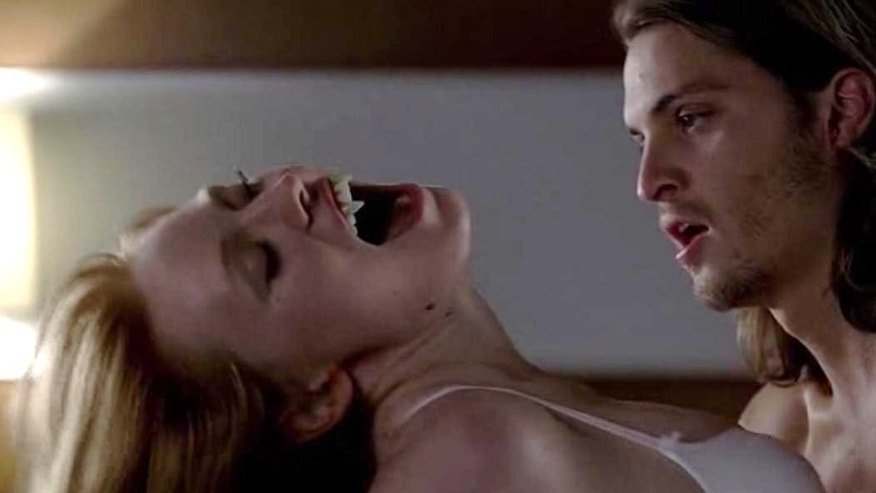 "Luke Grimes and Deborah Ann Woll on ""True Blood."""