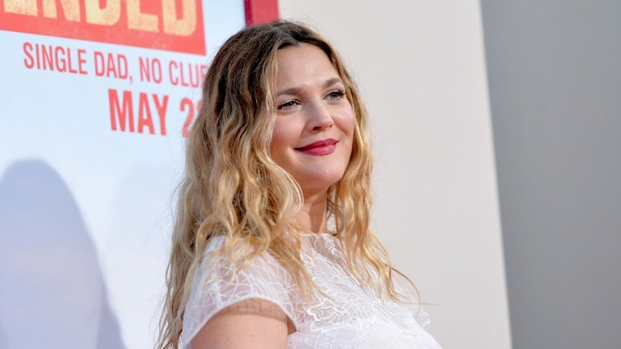 Drew Barrymore on May 21, 2014 in Hollywood, California.