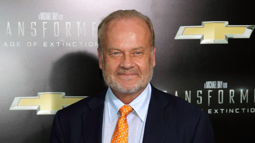 """This June 25, 2014 photo shows actor Kelsey Grammer at the premiere of """"Transformers: Age of Extinction"""" in New York. Grammer testified against the release of Freddie Glenn who is serving a life sentence for the first-degree murder of his sister Karen Elisa Grammer in 1975."""