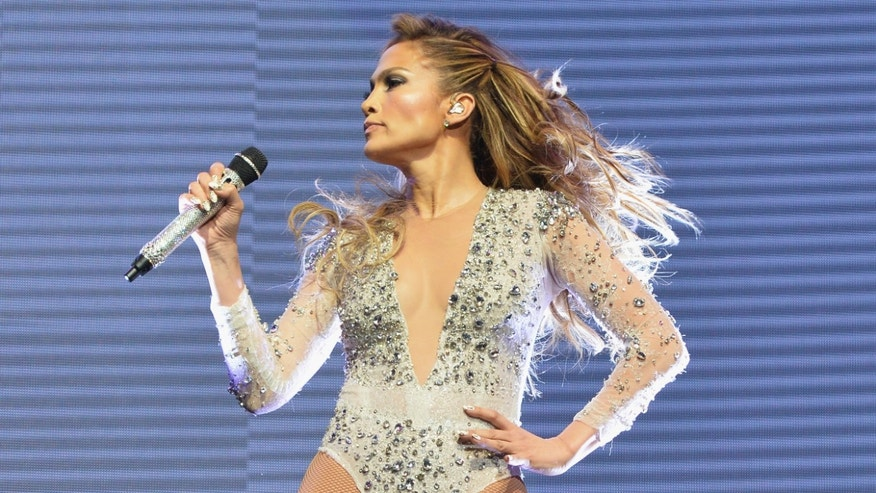 Jennifer Lopez at IZOD Center on June 29, 2014 in East Rutherford, New Jersey.