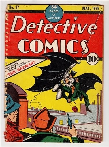 Batman creator's personal comics to be auctioned