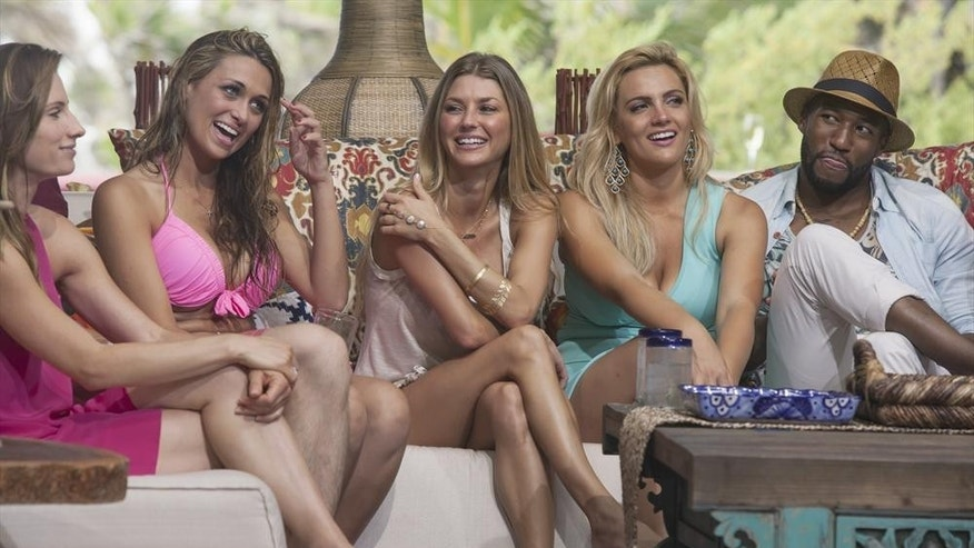 "Michelle Kujawa, Lacy Faddoul, AshLee Fraizer, Daniella McBride, Marquel Martin appear on ""Bachelor in Paradise."""