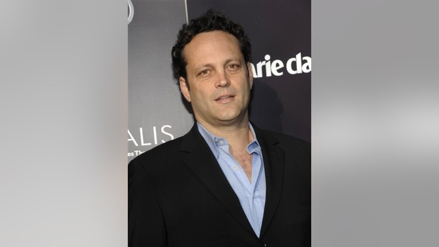 Actor Vince Vaughn arrives at the Chrysalis Butterfly Ball in Los Angeles on Saturday, June 11, 2011. The event is a benefit for Chrysalis, a non-profit organization that helps people out of homelessness and poverty. (AP Photo/Dan Steinberg)