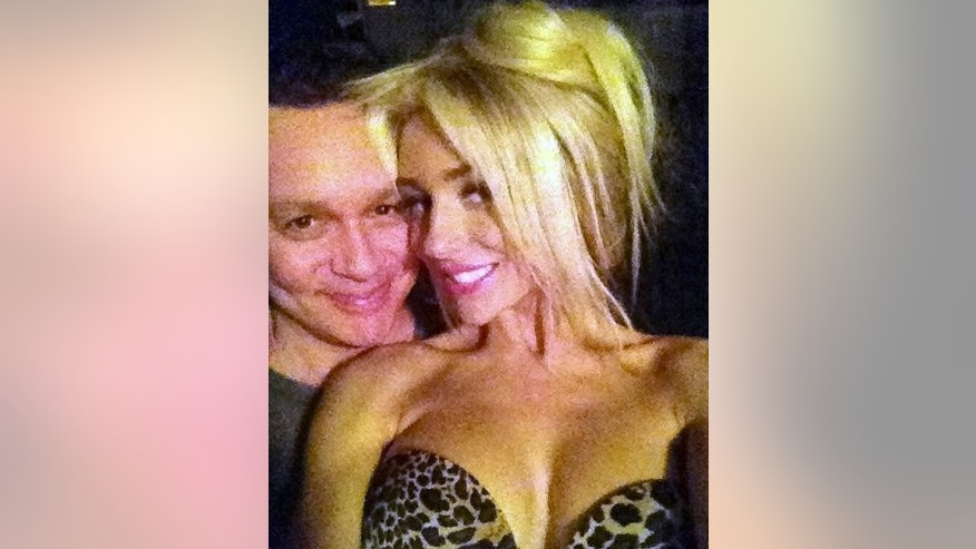 Courtney Stodden and Doug Hutchison in 2012.