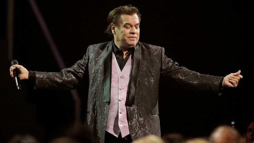 Juan Gabriel in a November, 2009 file photo in Las Vegas.