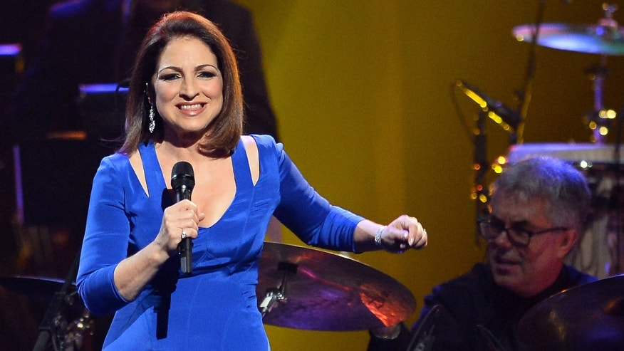 Honoree Gloria Estefan on April 26, 2014 in Las Vegas, Nevada.