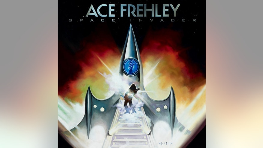 "This CD cover image released by eOne shows ""Space Invader,"" by Ace Frehley. (AP Photo/eOne)"