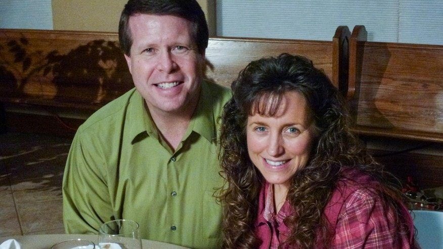 "Jim Bob and Michelle Duggar of TLC's ""19 Kids & Counting."""