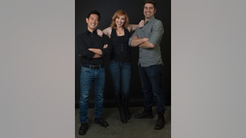 """From left to right, """"Mythbuster cohosts Grant Imahara, Kari Byron and Tory Belleci."""