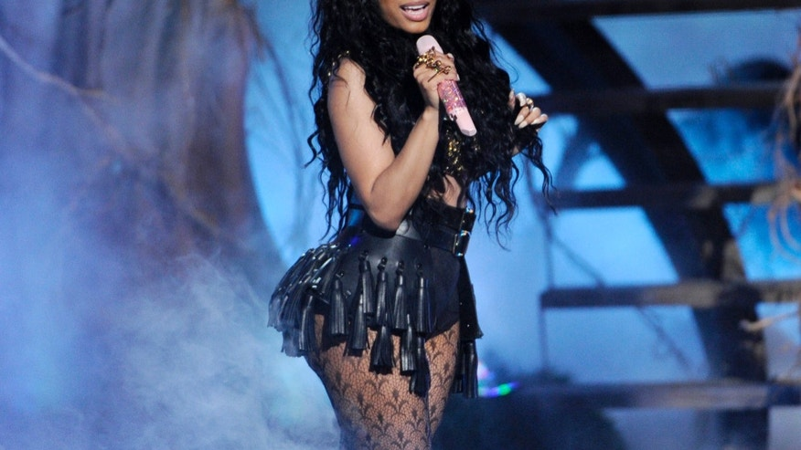 June 29, 2014. Nicki Minaj performing at the BET Awards in Los Angeles.