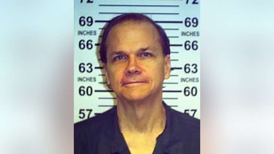 June 1, 2013 photo provided by the New York State Department of Corrections shows Mark David Chapman at the Wende Correctional Facility in Alden, N.Y.