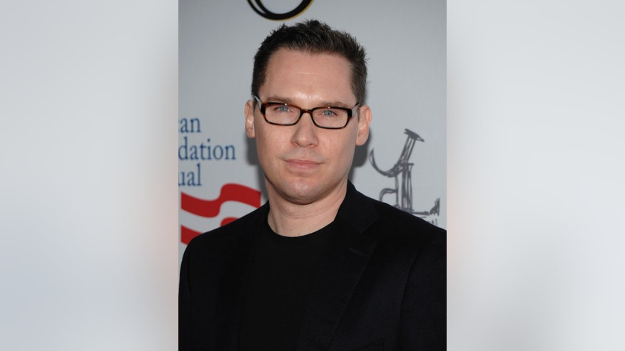 "March 3, 2012. Director Bryan Singer arrives at the Los Angeles premiere of the play ""8"" in Los Angeles."