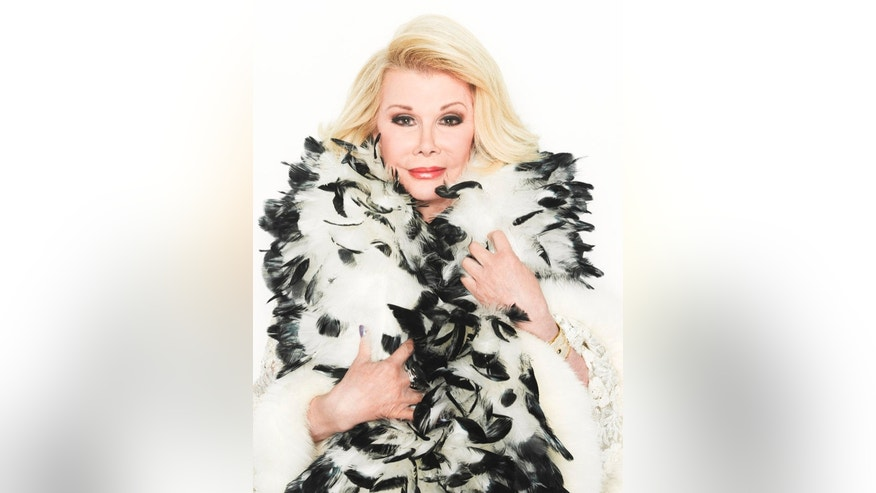 FASHION POLICE -- Season: 2012 -- Pictured: (l-r) Joan Rivers -- (Photo by: Timothy White/E!)