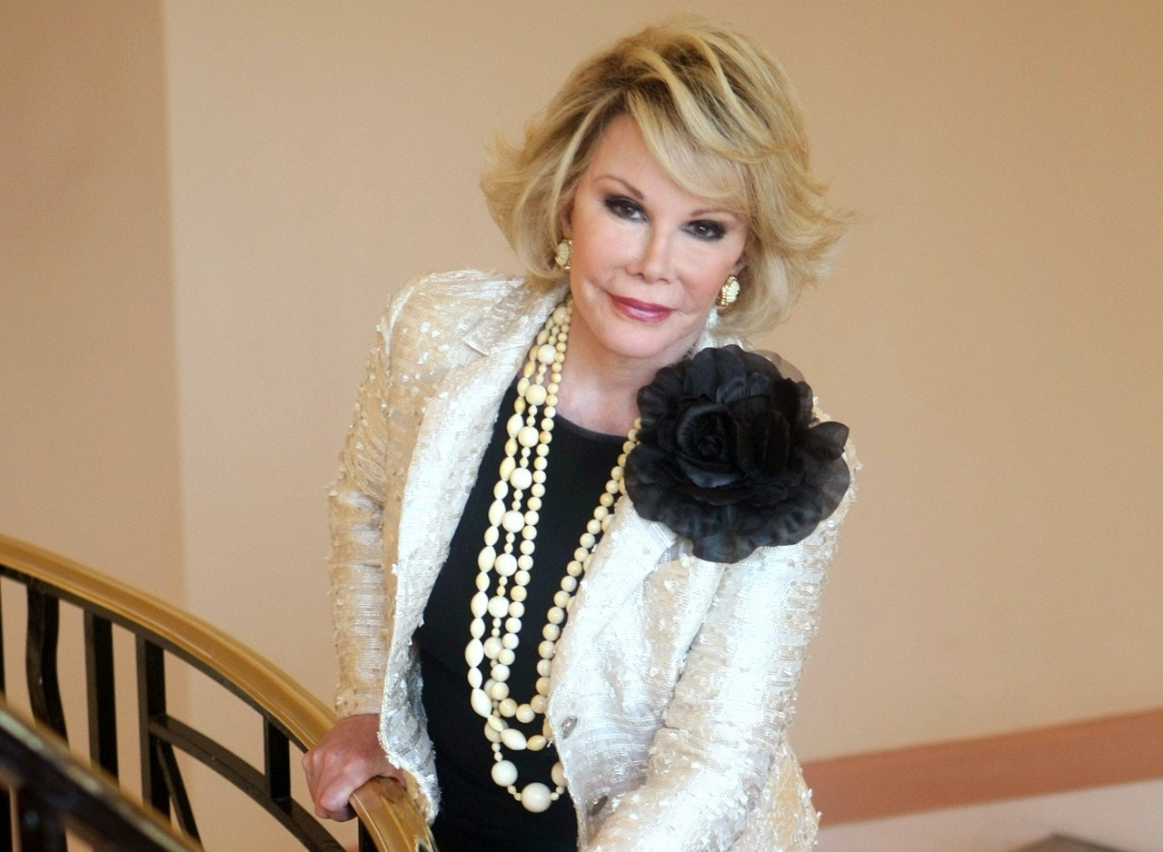 Joan Rivers had heart condition that frightened her