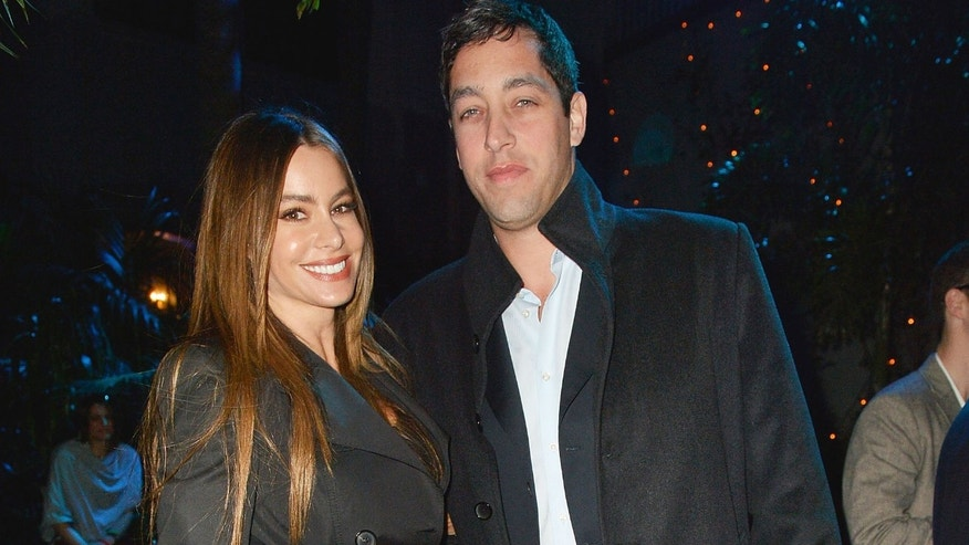 NEW ORLEANS, LA - FEBRUARY 01: Actress Sofia Vergara and Nick Loeb attend the Rolling Stone LIVE party held at the Bud Light Hotel on February 1, 2013 in New Orleans, Louisiana.  (Photo by Gustavo Caballero/Getty Images for Rolling Stone)