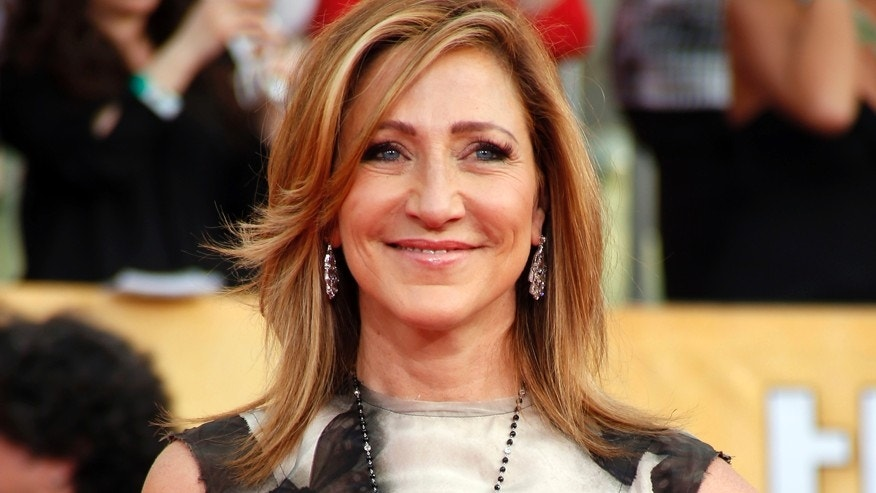 "Actress Edie Falco from the television series ""Nurse Jackie"" arrives at the 20th annual Screen Actors Guild Awards in Los Angeles, California January 18, 2014."