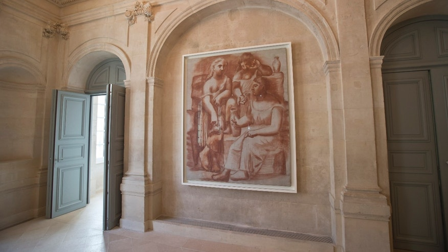 nearly empty picasso museum set to reopen in paris fox news. Black Bedroom Furniture Sets. Home Design Ideas