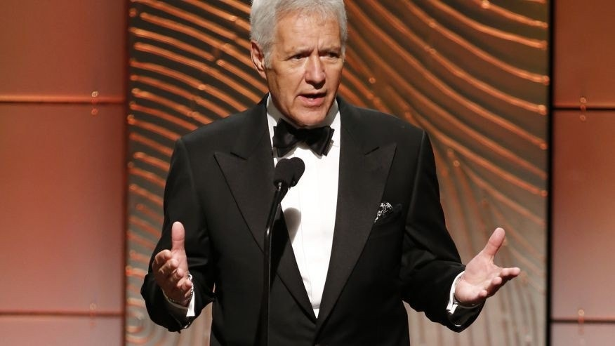 """Jeopardy"" host Alex Trebek."