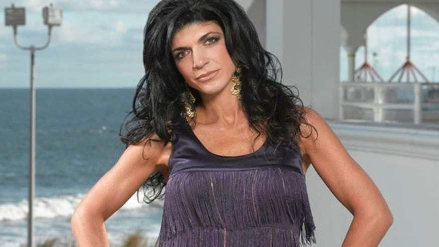 Teresa Giudice in shown in this Bravo photo.