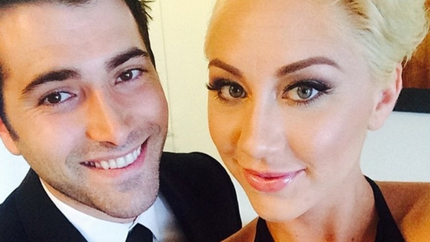 """Days of Our Lives"" actor Freddie Smith and his girlfriend Alyssa Tabit."