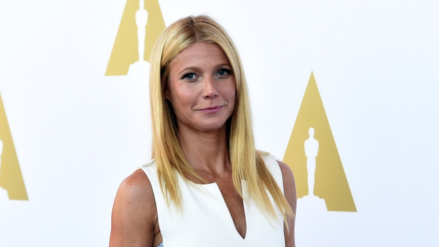 October 8, 2014. Actress Gwyneth Paltrow attends a private luncheon in celebration of Hollywood Costume at the future home of the Academy Museum of Motion Pictures in Los Angeles, California.