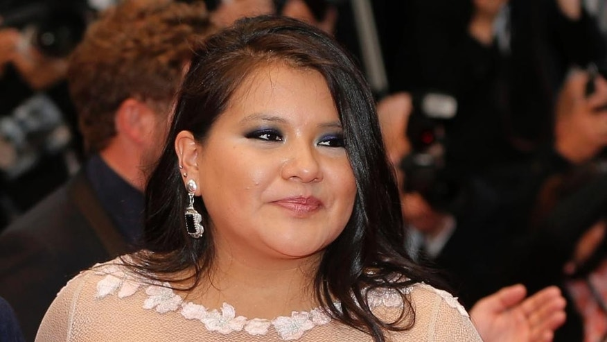 "In this May 17, 2013 file photo, actress Misty Upham arrives for the screening of the film Jimmy P.: Psychotherapy of a Plains Indian, at the 66th international film festival, in Cannes, southern France. Police in Washington state say Upham, known for her roles in ""August: Osage County,"" ""Frozen River"" and ""Django Unchained,"" has been missing since Sunday, Oct. 5, 2014. (Photo by Todd Williamson/Invision/AP, File)"