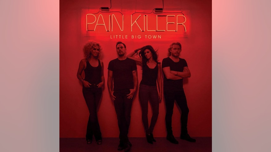 "This CD cover image released by Capitol Nashville shows ""Pain Killer,"" by Little Big Town. (AP Photo/Capitol Nashville)"