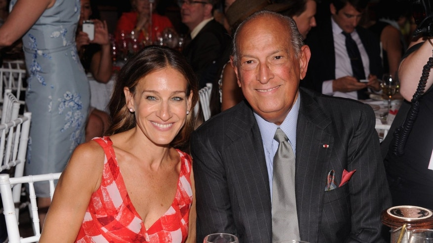 Sarah Jessica Parker and Oscar de la Renta attend the 2012 Couture Council for the Museum in New York City.