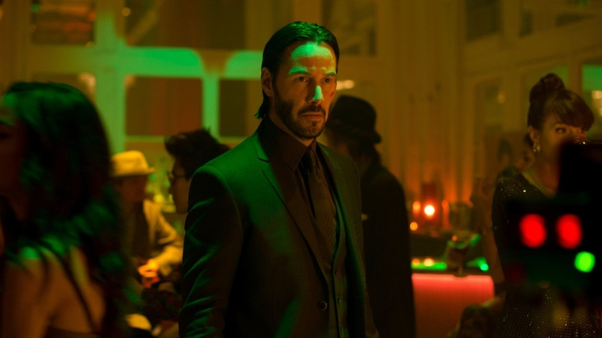 "Keanu Reeves in ""John Wick."""