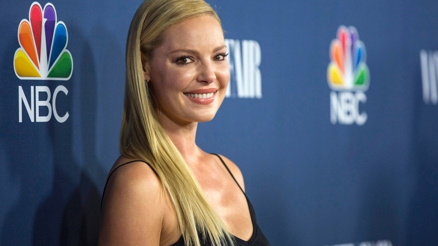 "Actress Katherine Heigl from the television series ""State of Affairs"" poses at NBC and Vanity Fair's 2014-2015 television season event in Los Angeles, California September 16, 2014."