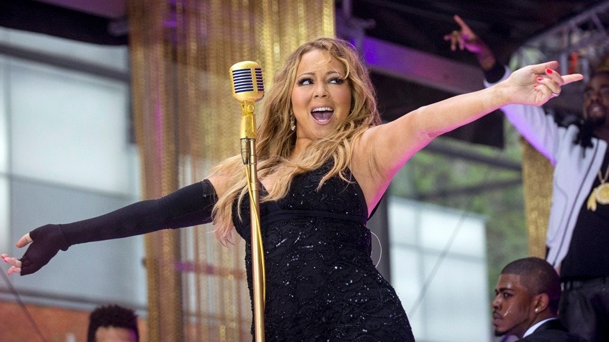 Singer Mariah Carey performs on NBC's 'Today' show in New York May 16, 2014.
