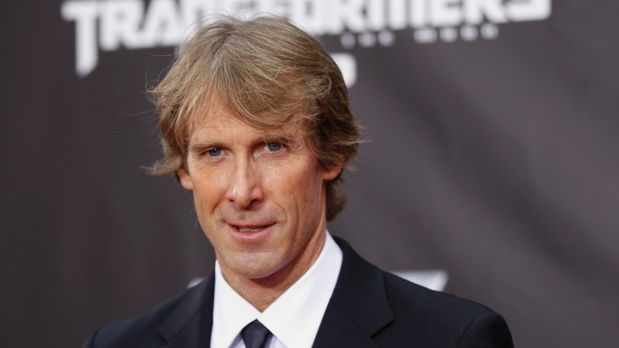 Director Michael Bay arrives for the premiere of Transformers: Dark of The Moon in Times Square in New York June 28, 2011.