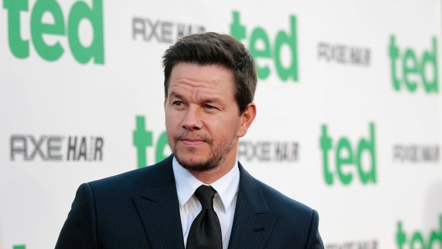 "Cast member Mark Wahlberg poses at the premiere of ""Ted"" at the Grauman's Chinese theatre in Hollywood, Calif. on June 21, 2012."