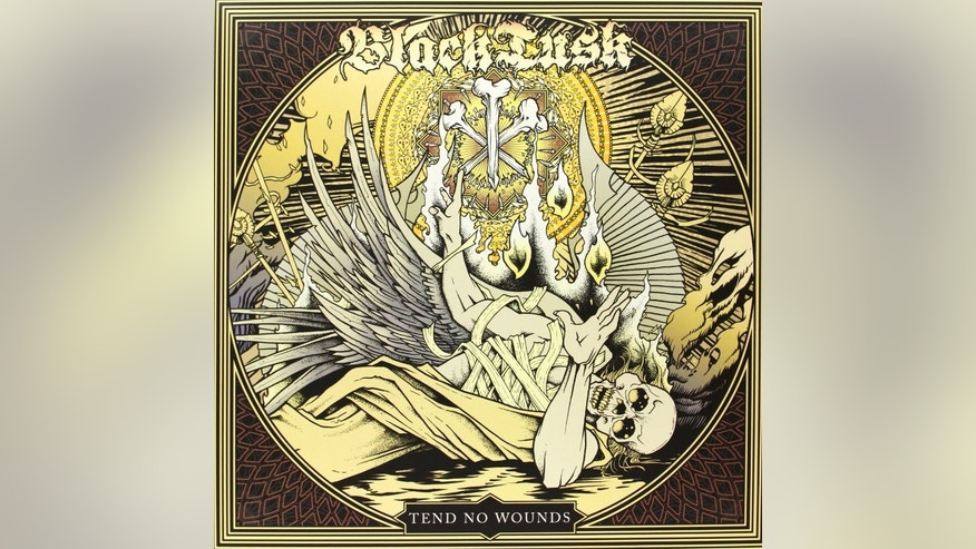 "The album artwork for ""Tend No Wounds"" by Black Tusk"