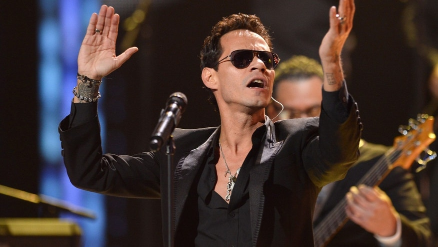 LAS VEGAS, NV - NOVEMBER 21:  Singer Marc Anthony performs onstage during the 14th Annual Latin GRAMMY Awards held at the Mandalay Bay Events Center on November 21, 2013 in Las Vegas, Nevada.  (Photo by Ethan Miller/Getty Images for LARAS)