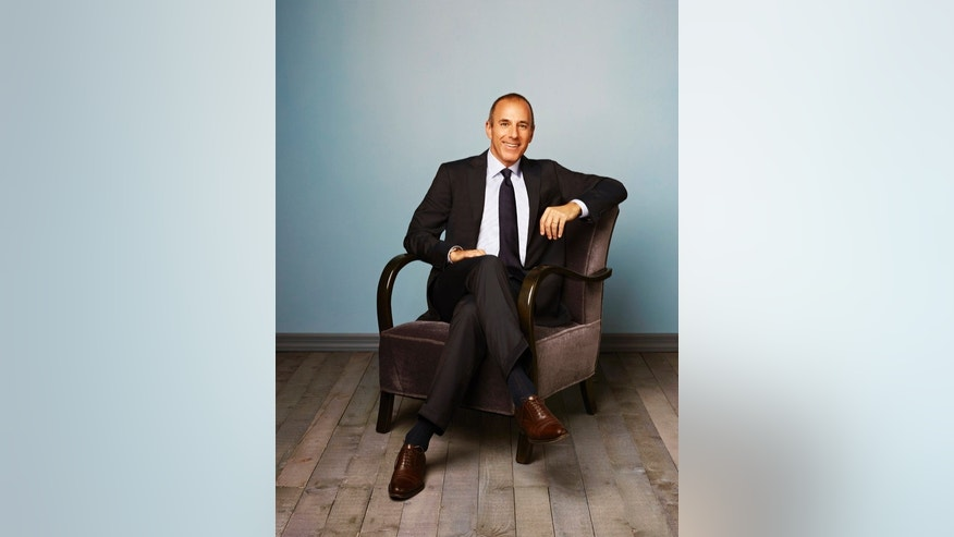 TODAY -- Season: 2012 -- Pictured: Matt Lauer -- (Photo by: Andrew Eccles/NBC)